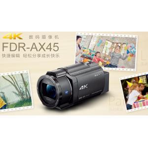 索尼新品FDR-AX45热卖 脚架 128G卡 套装
