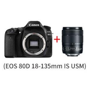佳能(Canon) 数码相机(套机) EOS 80D 黑色 ...