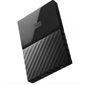 西部数据(WD)2TB USB3.0移动硬盘My Passp...