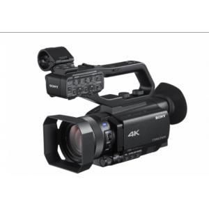 索尼(SONY)HXR-NX80 高清数码摄录一体机 婚庆 会议 专业手持4K摄像机
