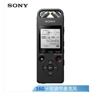 索尼(SONY)录音笔ICD-SX2000 16GB 红色 ...
