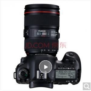 佳能相机EOS5DIV(24-105)套机(含佳能闪光灯、电...